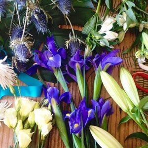 Designers Choice Bouquet - Blue